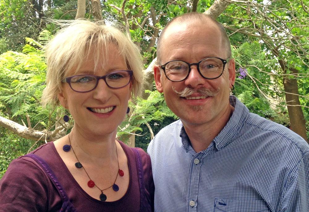 Kirk and Lisa Patston